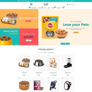Купить  пофессиональные Shopify шаблоны. Купить шаблон #95851 и создать сайт.