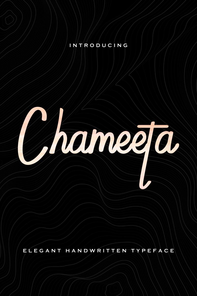 Chameeta Font - screenshot