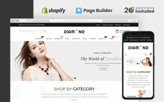 Diamond Jewellery Store Shopify Theme