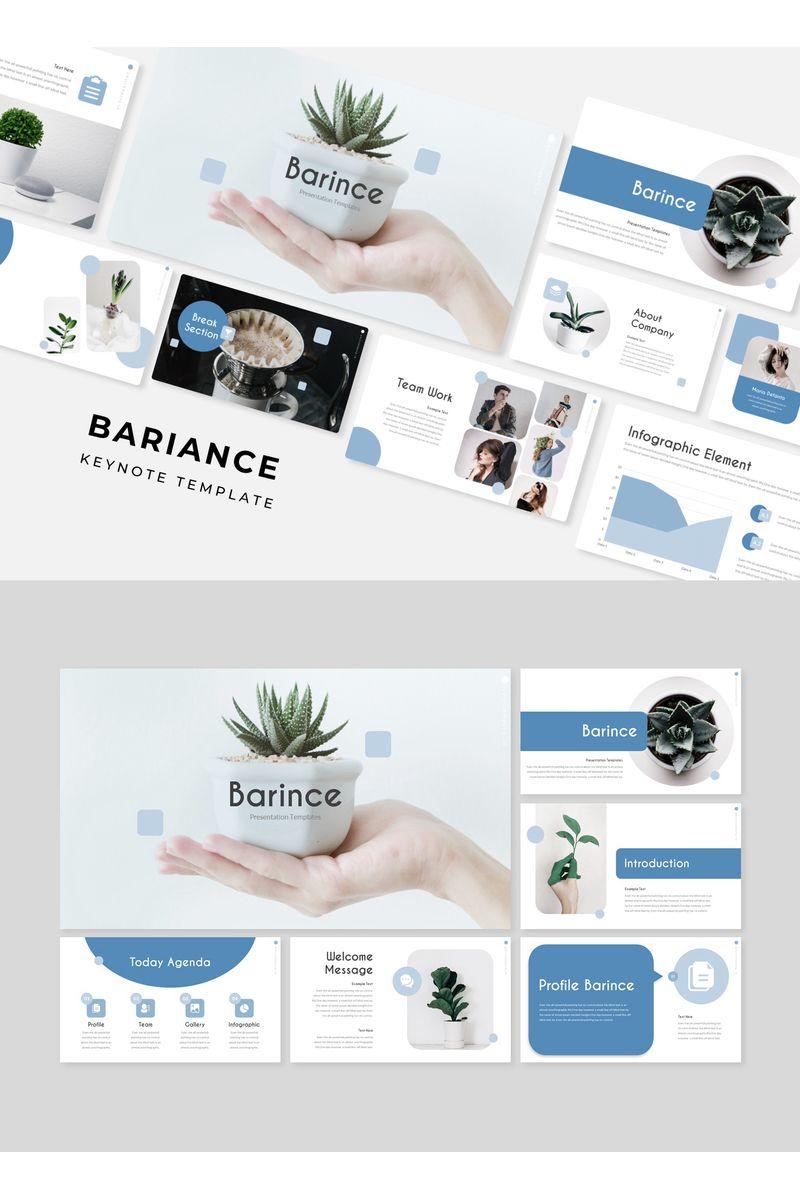 BARINCE Keynote Template - screenshot
