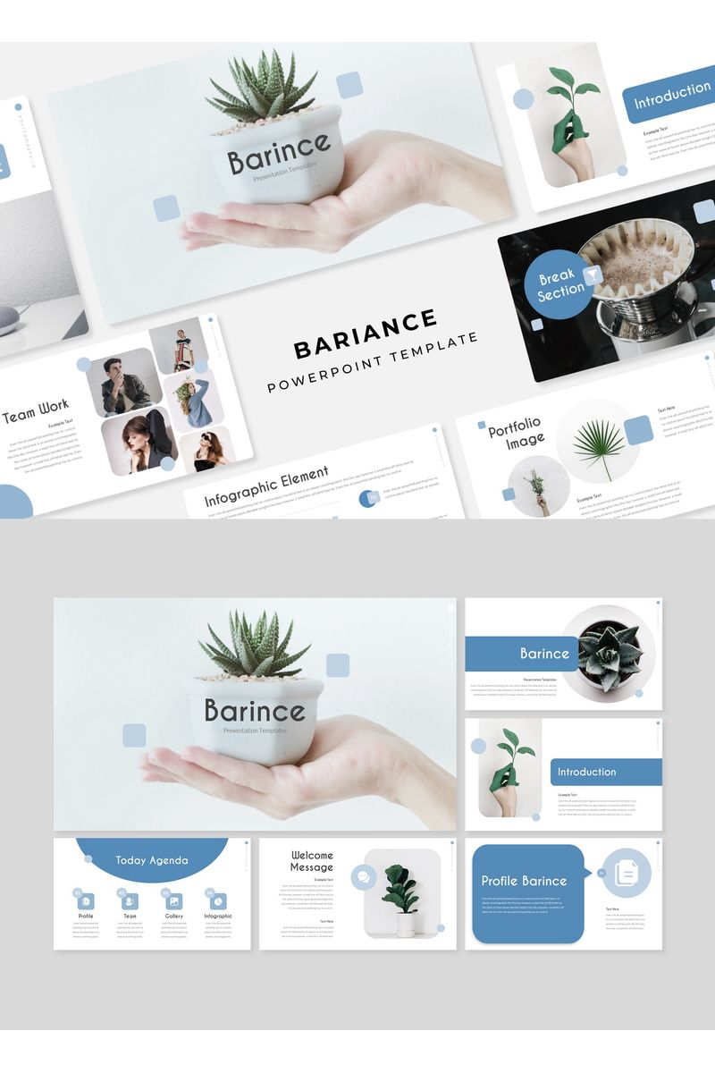 BARINCE PowerPoint Template - screenshot