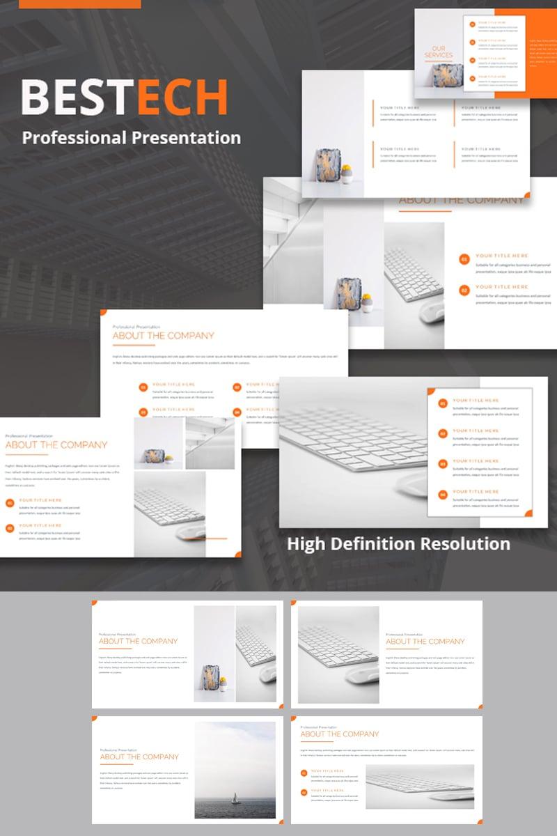 Bestech PowerPoint Template - screenshot