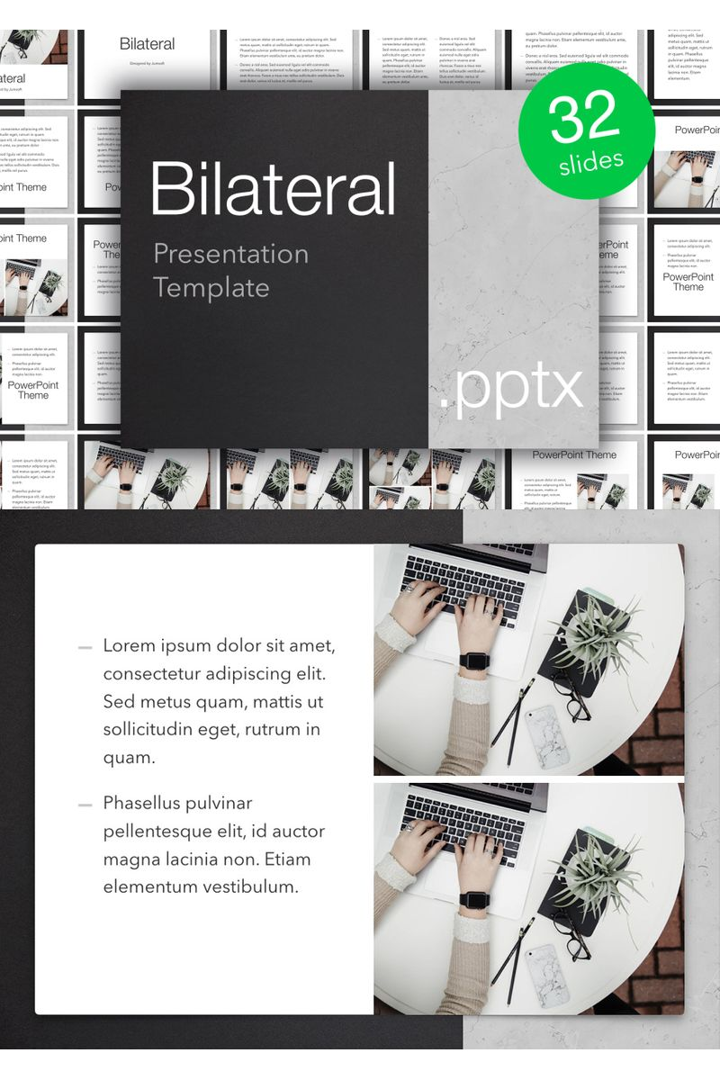 Bilateral PowerPoint Template - screenshot