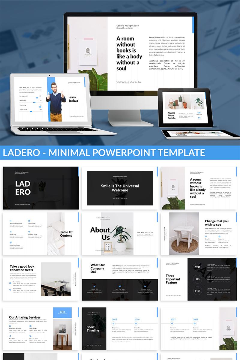 Ladero - Minimal PowerPoint Template - screenshot