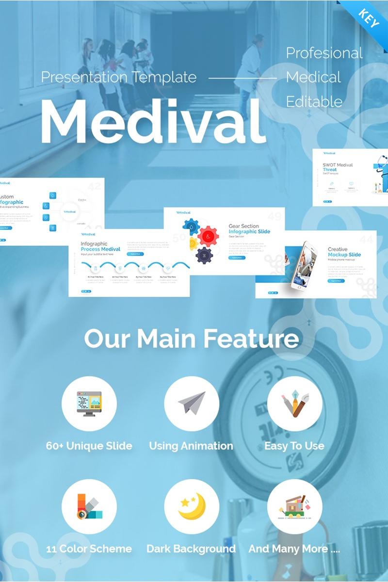 Medival Health Presentation Fully Animated Keynote Template - screenshot