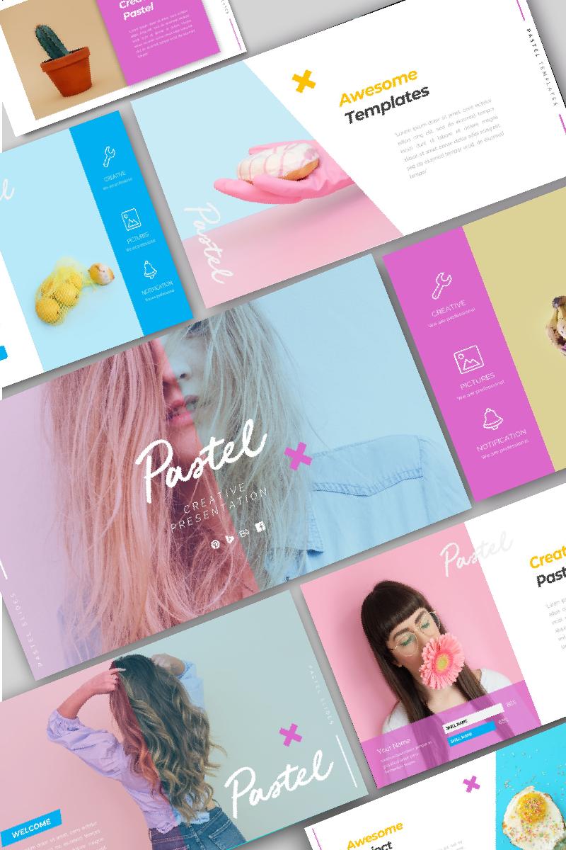 """Pastel Creative"" - адаптивний PowerPoint шаблон №95976 - скріншот"