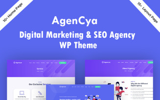 Agencya - Digital Marketing & SEO Agency WordPress Theme