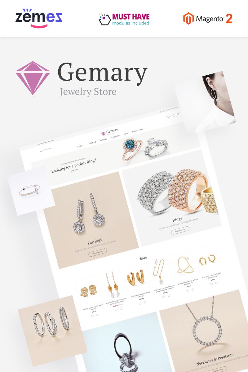"""Gemany - Jewel Store Template"" 响应式Magento模板 #96048"