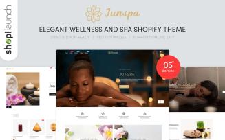 Junspa - Elegant Wellness & Spa Shopify Theme