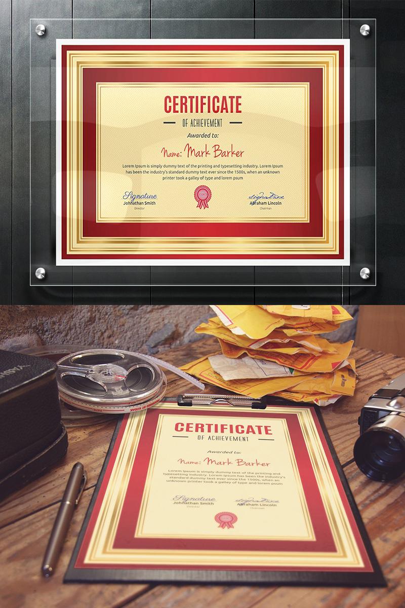 Szablon certyfikatu Elegant #96024