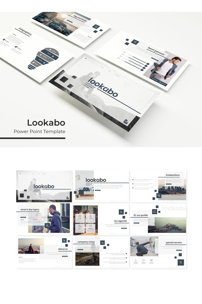 """Lookabo"" PowerPoint Template №96164"