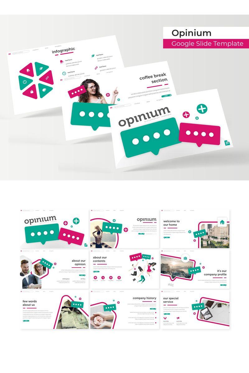 """""""Opinium"""" Google Slides №96172"""