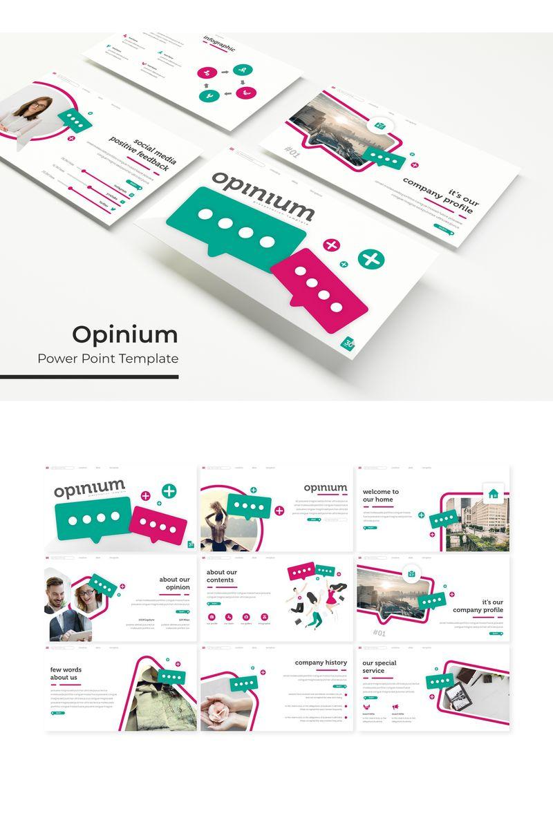 Opinium PowerPointmall #96161