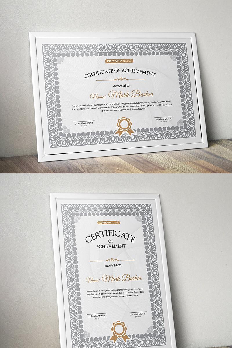 """Plantilla De Certificado """"Classic"""" #96156"""