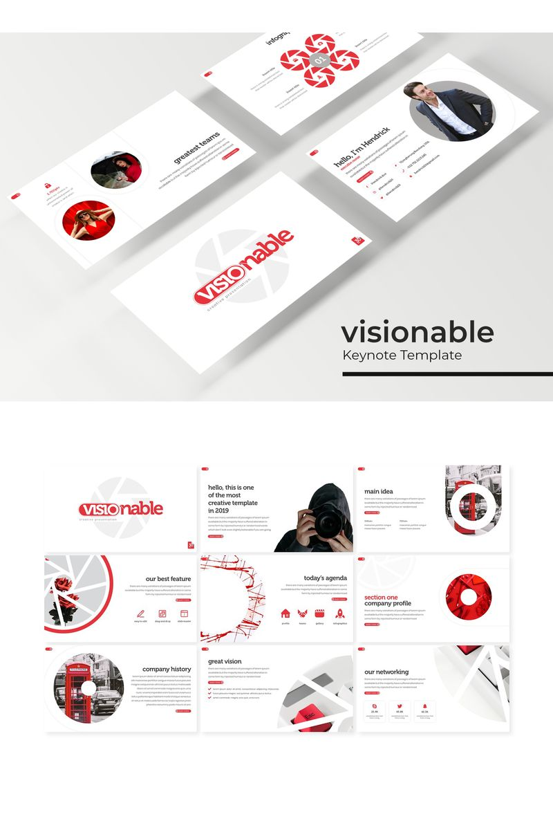 "Tema Keynote #96189 ""Visionable"""