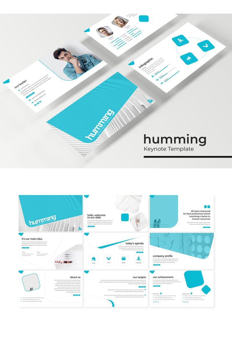 """Tema Keynote #96195 """"Humming"""""""