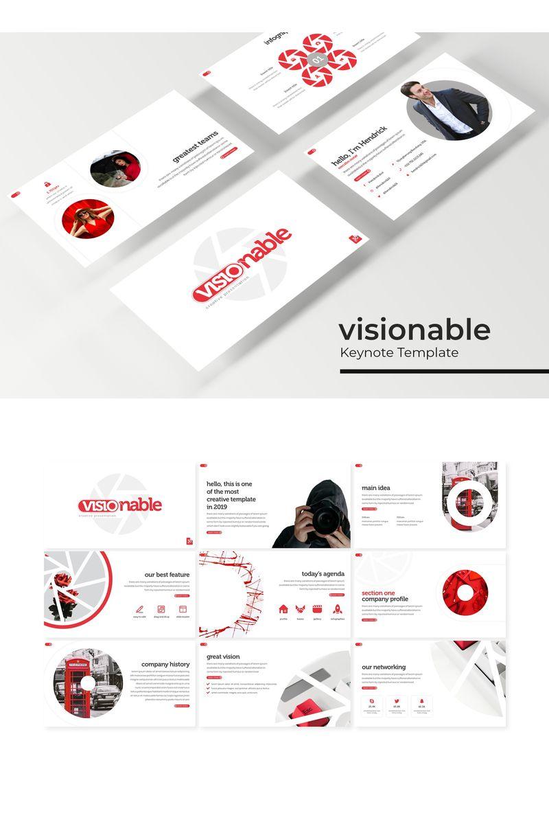 Visionable Keynote sablon 96189