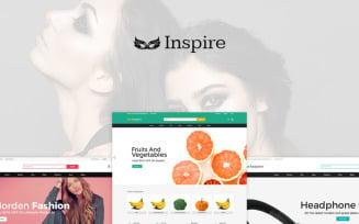 Inspire Multipurpose OpenCart Template