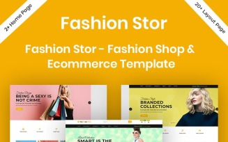 Fashion Stor - Fashion Shop & Ecommerce Website Template