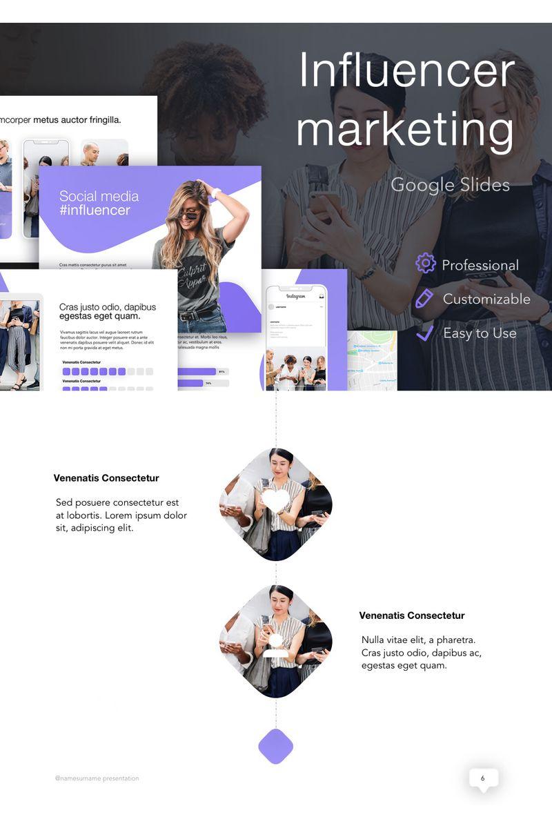 Influencer Marketing Google Slides