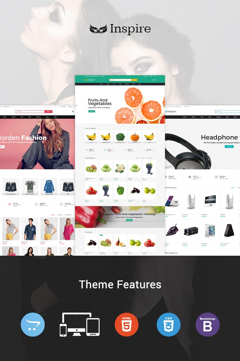 "Plantilla OpenCart ""Inspire Multipurpose"" #96286 - captura de pantalla"