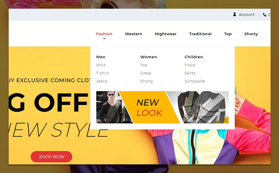 """Starmode Accessories Store"" thème PrestaShop adaptatif #96292 - screenshot"