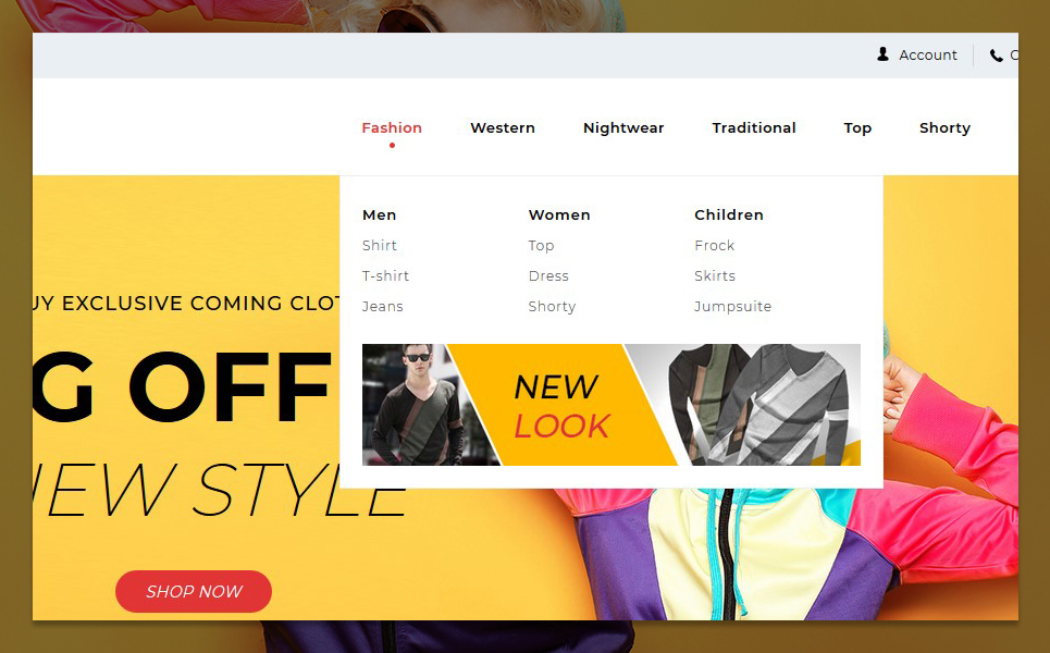 "Template PrestaShop Responsive #96292 ""Starmode Accessories Store"" - screenshot"