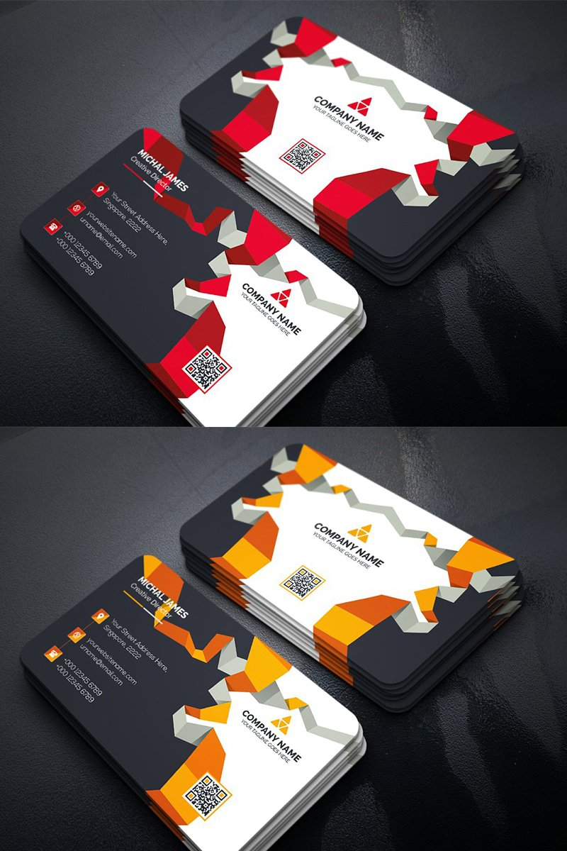 """""""Abstract Business Card"""" design d'Entreprise  #96324"""