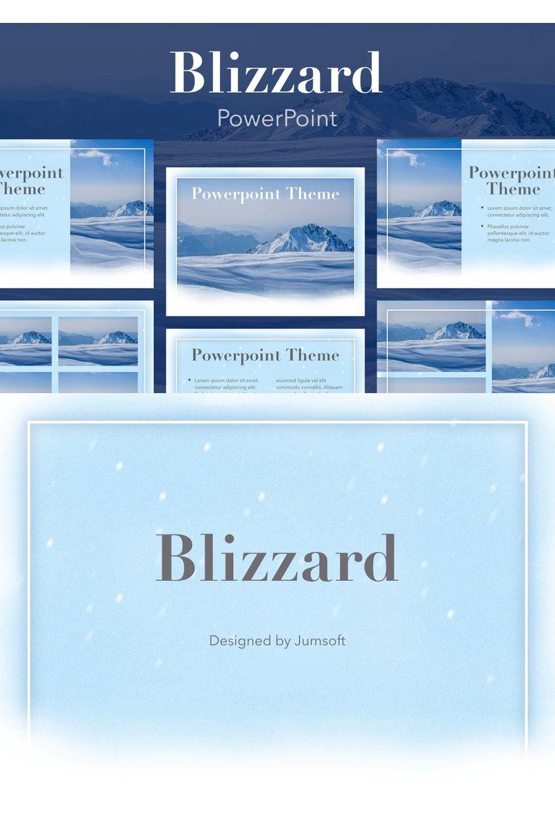 Blizzard PowerPointmall #96358