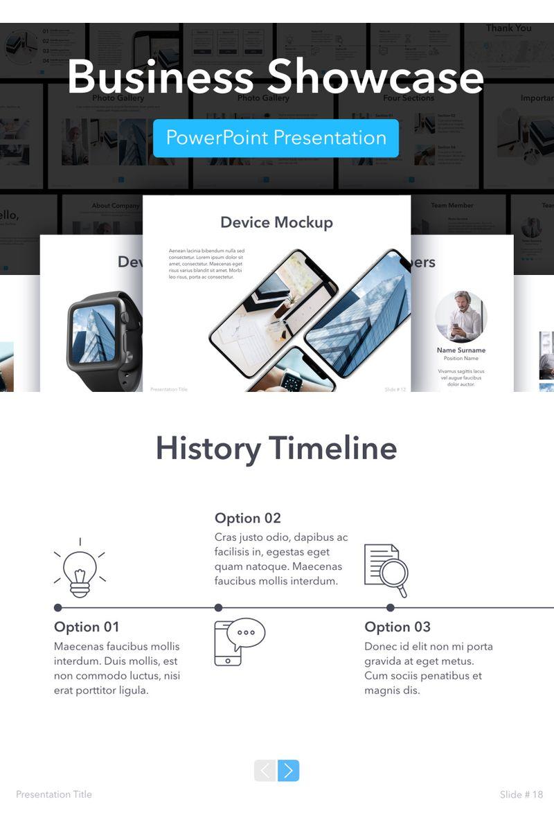 Business Showcase PowerPointmall #96352