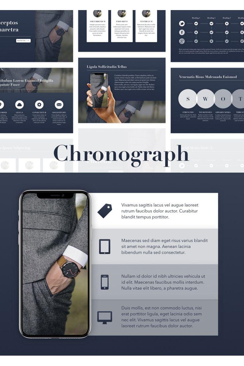 Chronograph PowerPointmall #96348