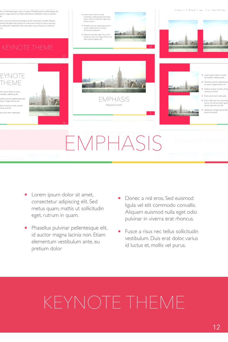 Emphasis Keynote Template