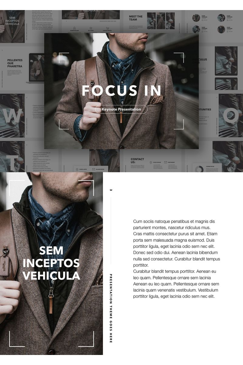 Focus In Keynote Template