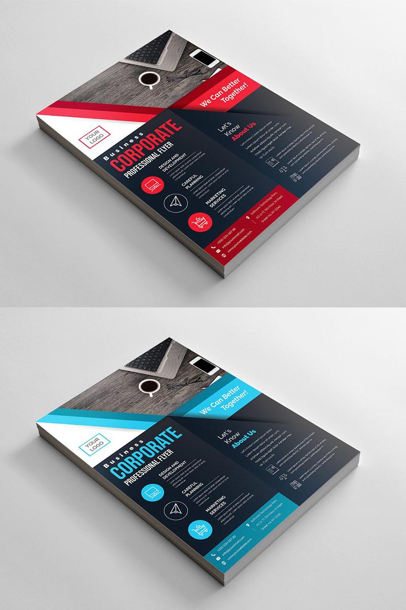 Geometric Flyer Corporate identity-mall #96511