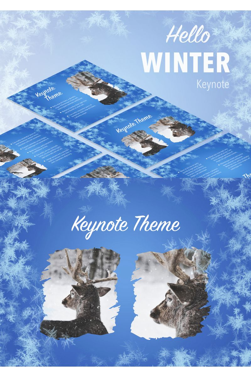 Hello Winter Keynote Template
