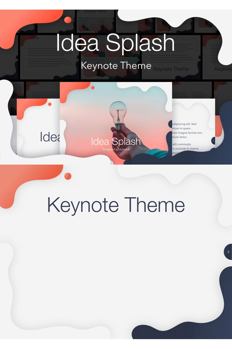 Idea Splash Keynote Template