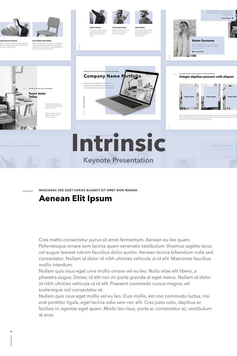 Intrinsic Keynote Template