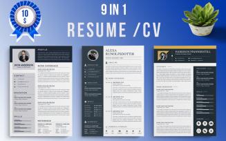 Mega Bundle Resume Template