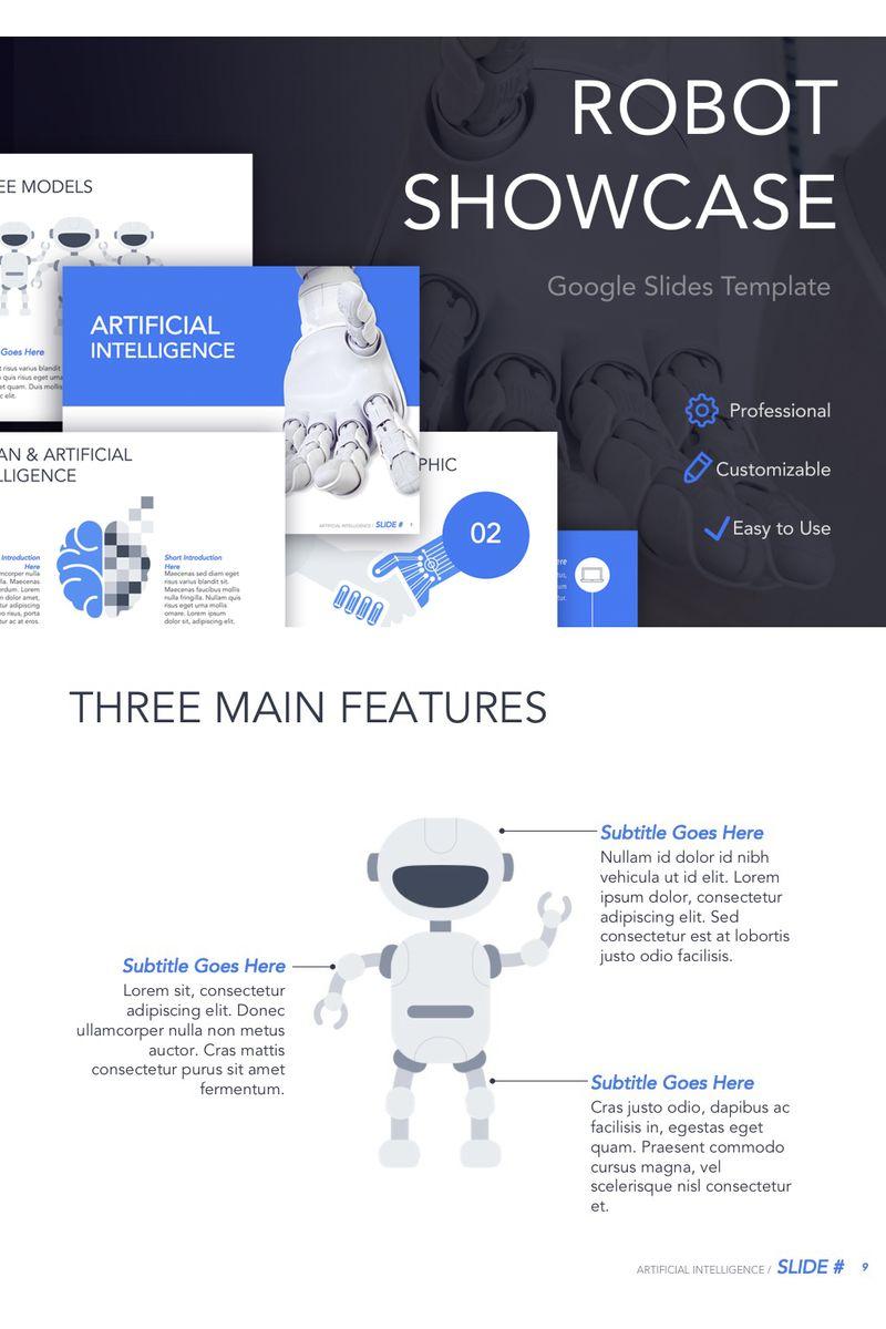 Robot Showcase Google Slides
