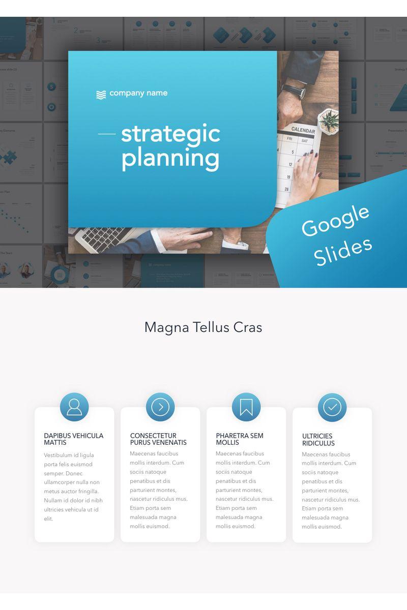 Strategic Planning Google Slides