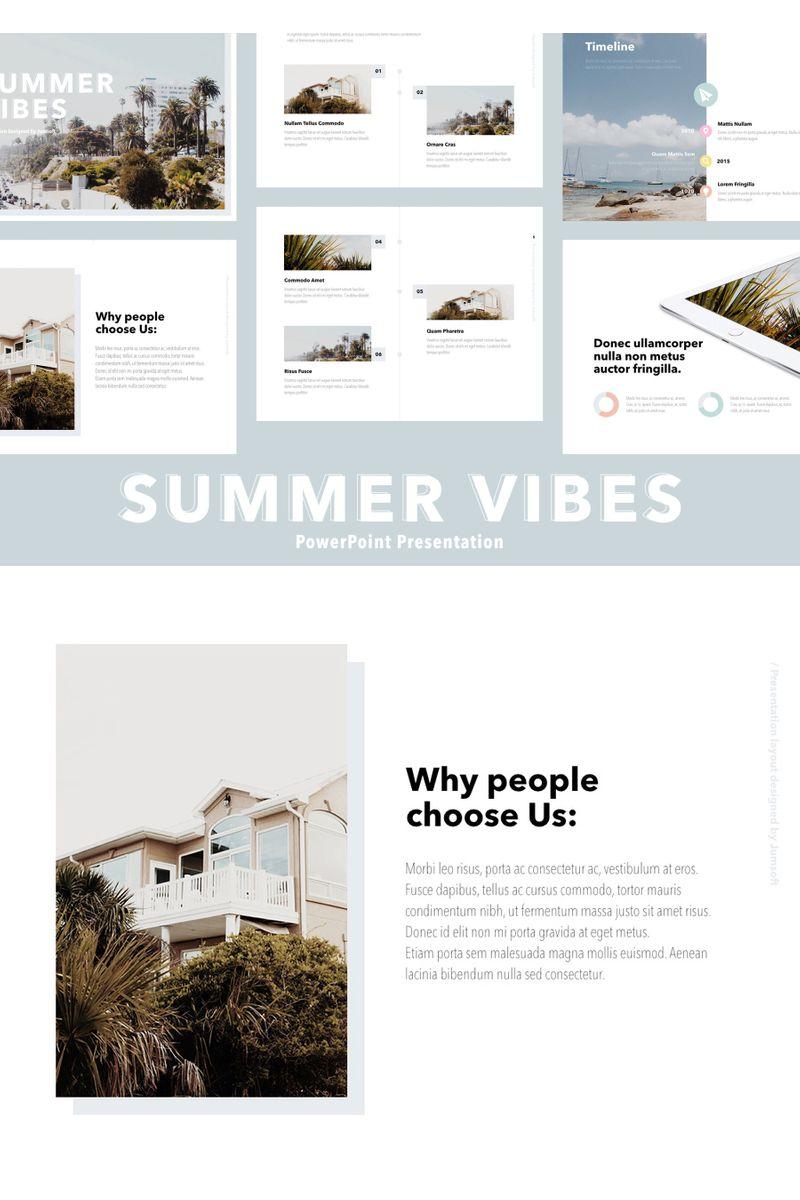 Summer Vibes PowerPoint Template