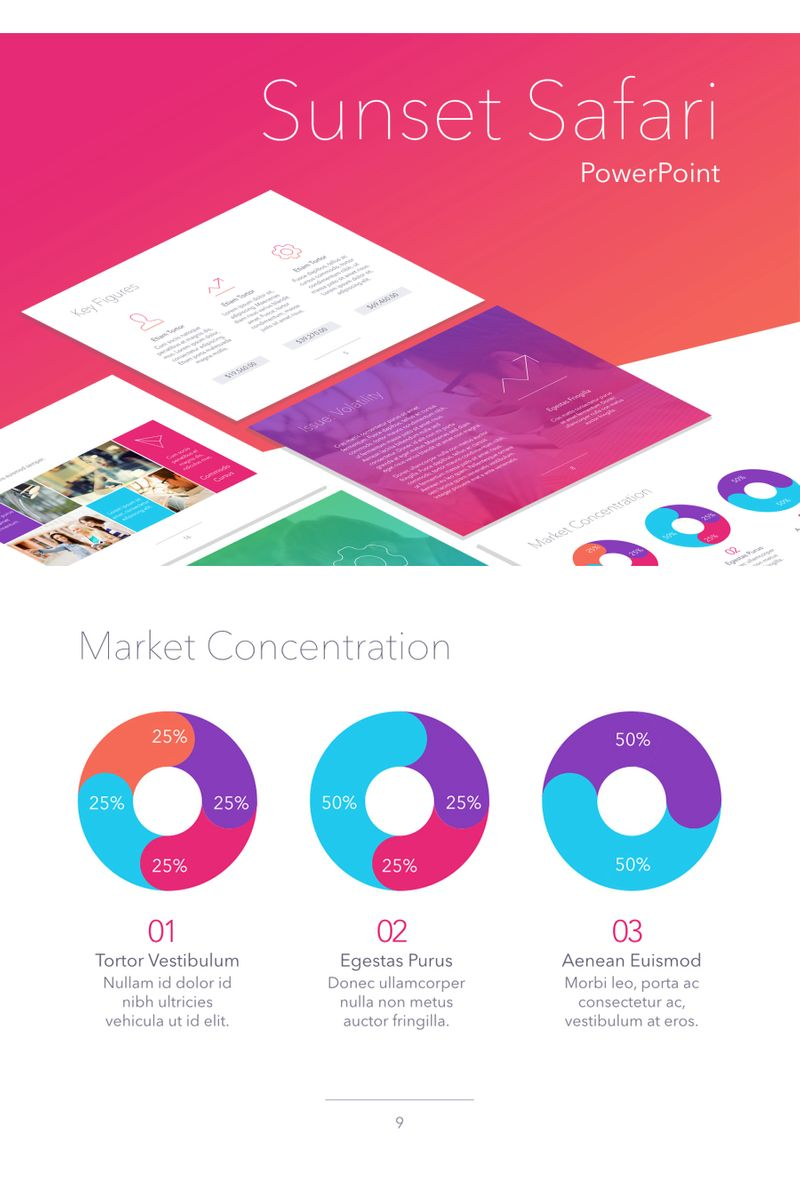 Sunset Safari PowerPoint Template