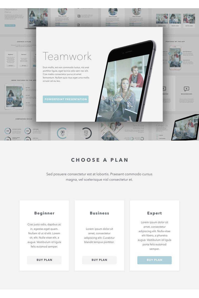 Teamwork PowerPointmall #96734