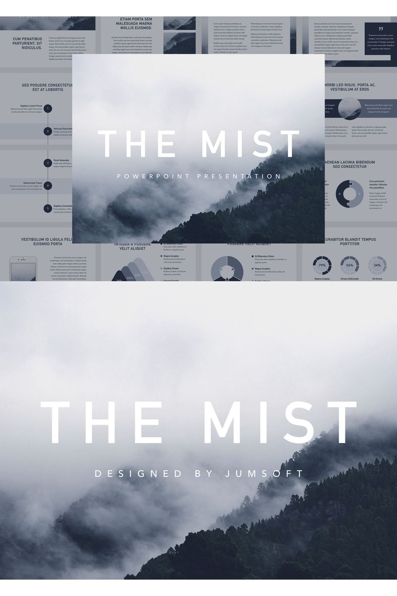 The Mist PowerPointmall #96726