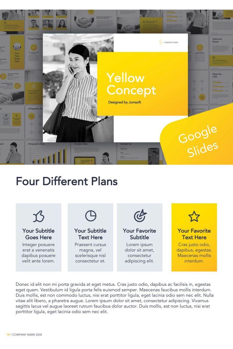 Yellow Concept Google Slides