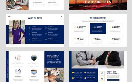 Business - Consultant Finance Google Slide