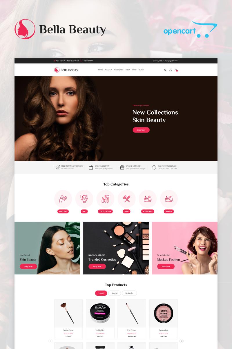 Bella Responsive OpenCart Template - screenshot