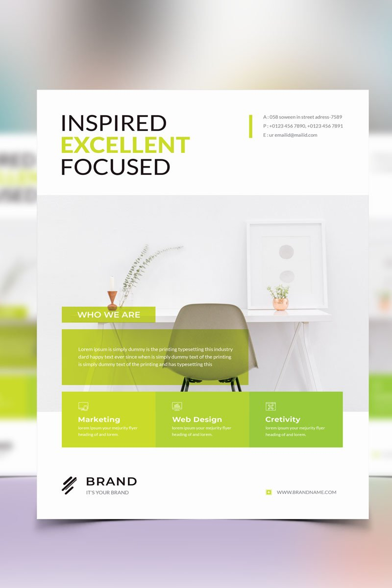 Brand - Creative Business Flyer Vol_ 44 Corporate identity-mall #96827