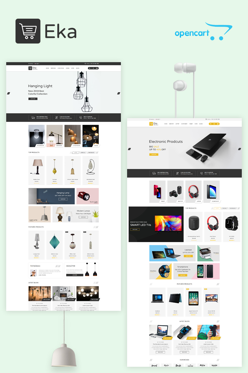 Eka Multipurpose OpenCart Template