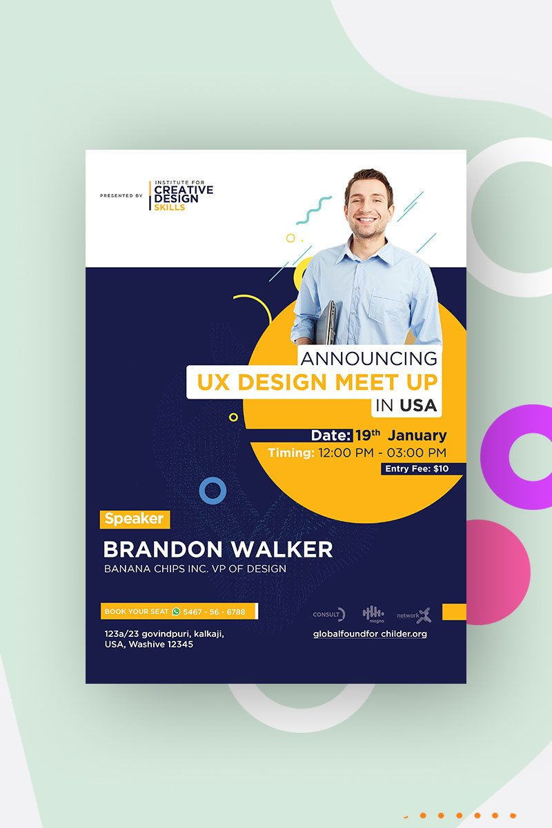 Event Poster/Flyer Design Corporate Identity Template
